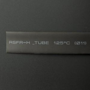 Tubo Termoencogible Negro 11 mm 1 Metro