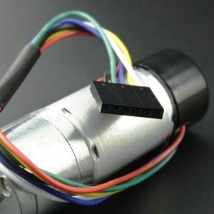 Motorreductor con Encoder 200 RPM 2.6Kg.cm