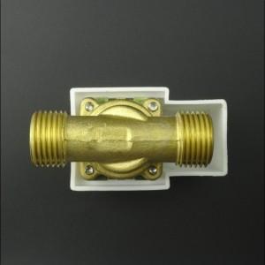 Electroválvula Metálica DCF-HT15 12V 1/2 Pulgada Con Presión