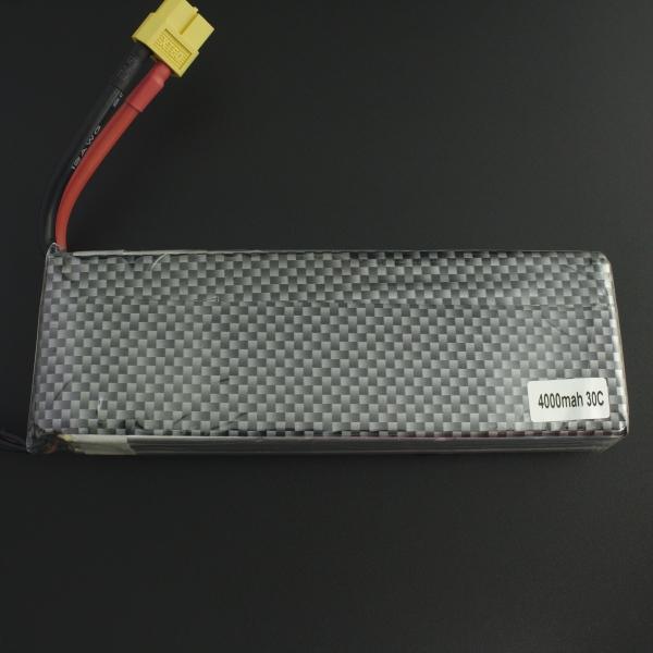 Batería Lipo 3S 11.1V 4000mAh 30C