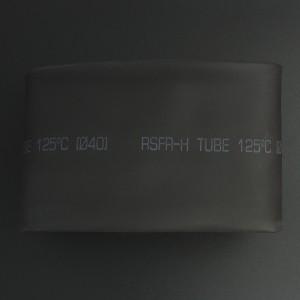 Tubo Termoencogible Negro 40 mm 1 Metro