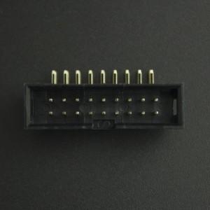 Conector IDC DC3-18P 2*9P Acodado Macho/Macho