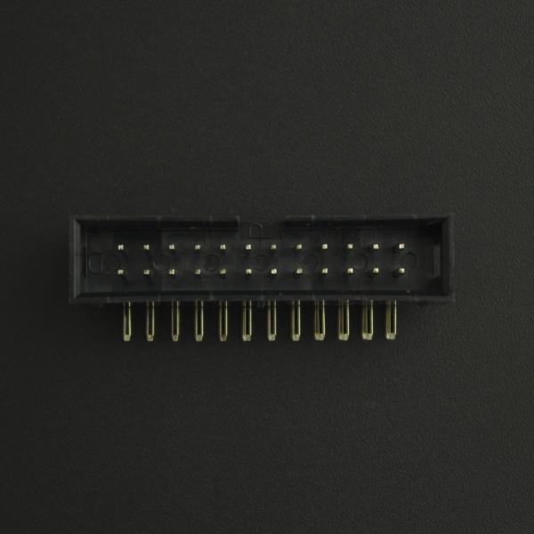 Conector IDC DC3-24P 2*12P Acodado Macho/Macho