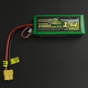 Batería de Litio MultiStar 3S 11.1V 1400mAh 65C