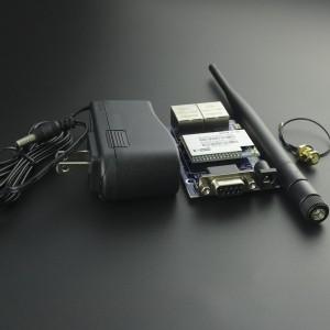 Kit Módulo WIFI HLK-RM04 + Tarjeta Serial + Antena De 2.4 GHz + Adaptador De Corriente