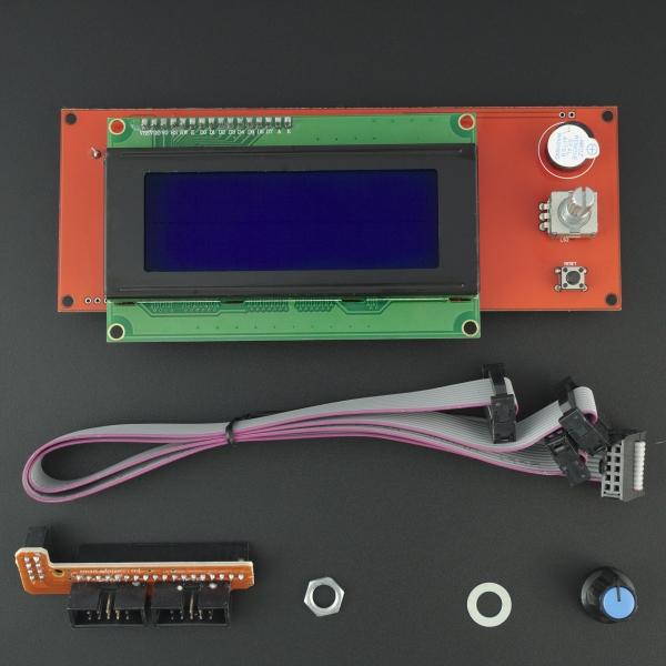 Pantalla LCD (Controlador Inteligente RepRapDiscount)