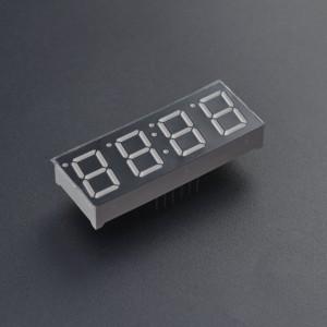Display 7 Segmentos X4 Cátodo Común 0.56 Inch Tipo Reloj