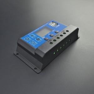 Regulador Controlador PWM De Carga Solar 30A KW1230 Para Batería