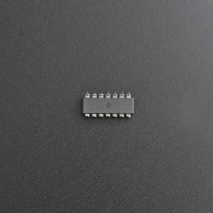Interruptor Quad bilateral CD4066BE