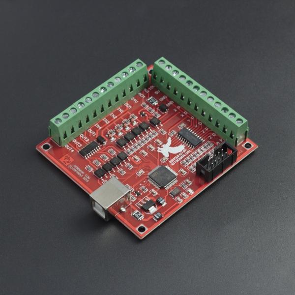 Controladora CNC Mach 3 USB 4 Ejes 100 KHz