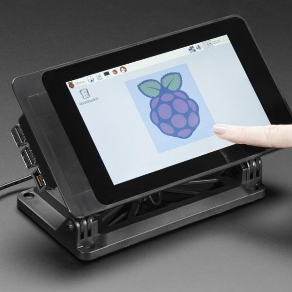 "Soporte SmartiPi Touch Para Pantalla TFT 7"" Raspberry Pi"