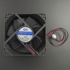 Ventilador 80x80x25 mm 12VDC