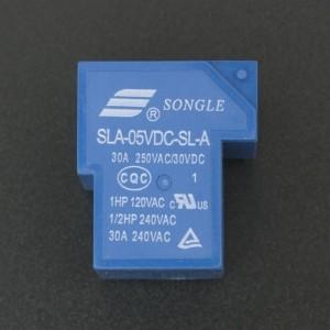 Relé SLA-05VDC-SL-A de 30A