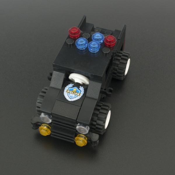 Kit Educativo Tipo LEGO Police Swat 8 en 1