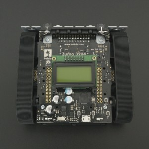Mini Robot Sumo 32U4 (Ensamblado con motores 50:1 HP) Pololu