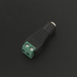 Conector Jack 2.1MM Hembra a Bornera Block 2P