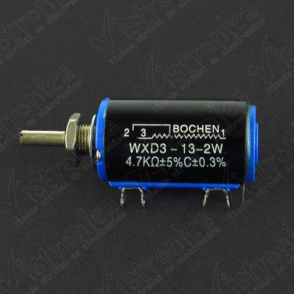 Potenciometro WXD3-13-2W-4.7K