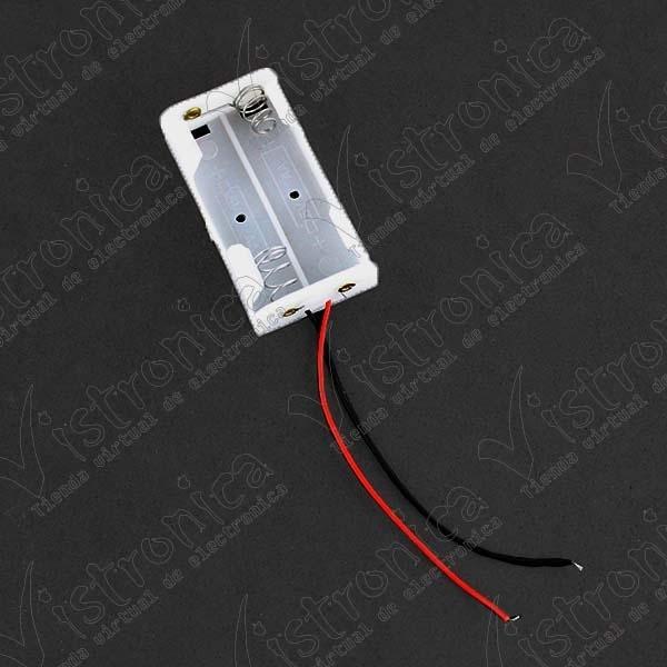 Porta pilas 2 X AA de 1'5V / (3V)