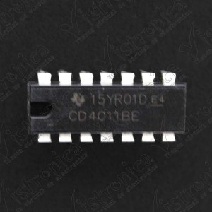 Microcontrolador cd4011be