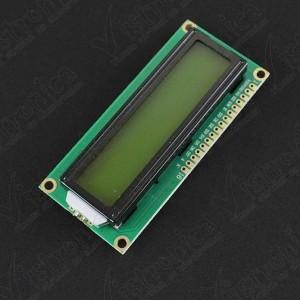 LCD 1602 Backlight Verde Genérico - 2
