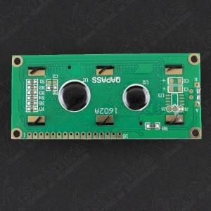 LCD 1602 Backlight Verde Genérico - 3