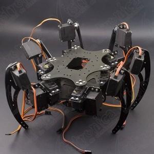 Robot Hexápodo Metálico