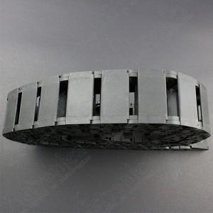 Cadena Porta Cables Plástica 15X30 1 Metro Genérico - 3