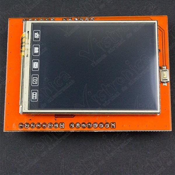 LCD TFT táctil para Arduino UNO de 2.4 pulgadas Genérico - 1