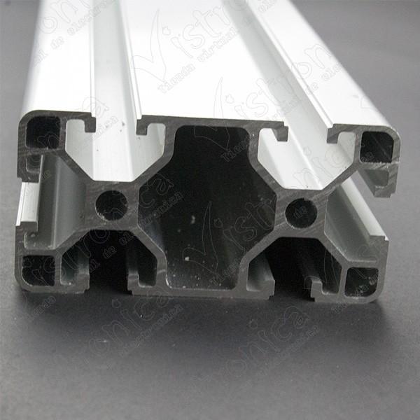 Perfil de Aluminio Para CNC 40x80MM 1 Metro