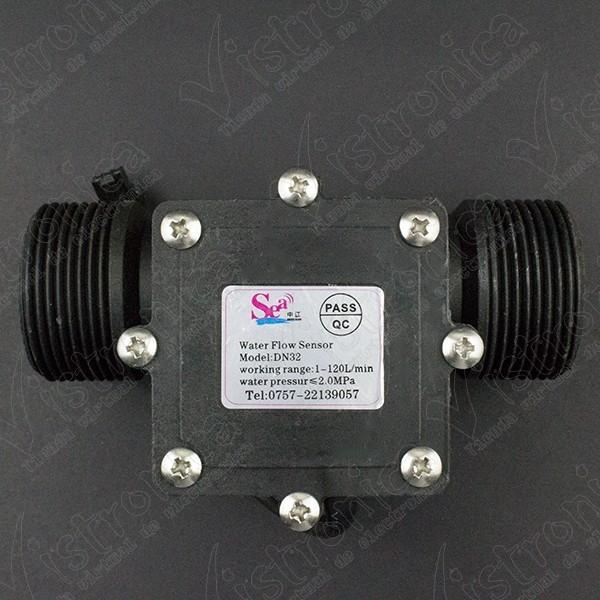 Sensor Medidor de Flujo DN32 1.25 Pulgada