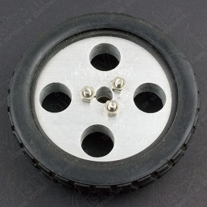 Llanta de rin de aluminio 7cm diámetro