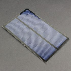 Panel Solar Policristalino 5V 300mA 1.5W