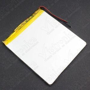 Batería Recargable LiPo 3.7V 2800mAh Genérico - 3