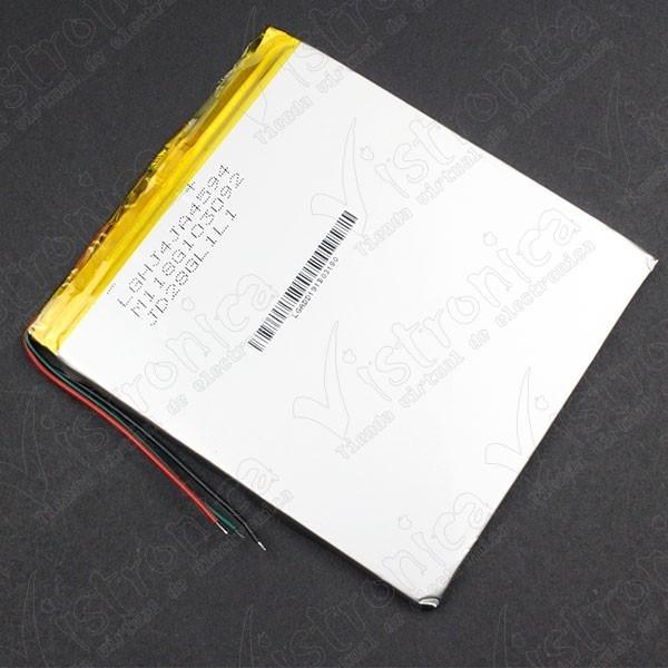 Batería Recargable LiPo 3.7V 2800mAh Genérico - 1