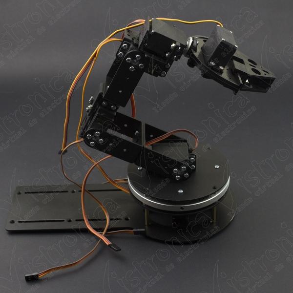 Brazo Robótico 6 DOF Metálico