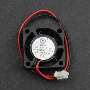 Mini Ventilador 12V DC 25x25x10 MM