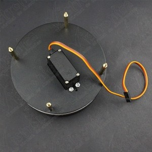 Base Giratoria + Plataforma Para Brazo Robótico Genérico - 4