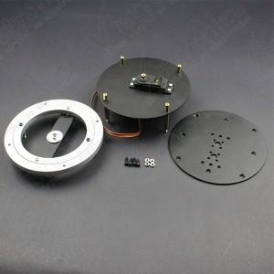 Base Giratoria + Plataforma Para Brazo Robótico Genérico - 8