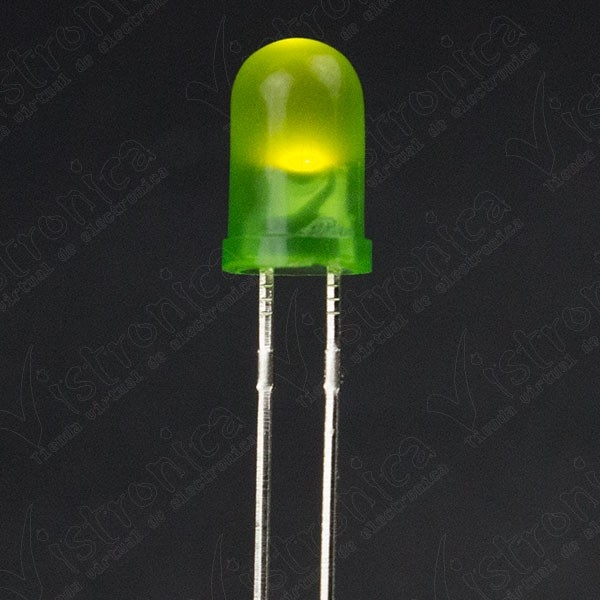 LED Verde 5mm Difuso
