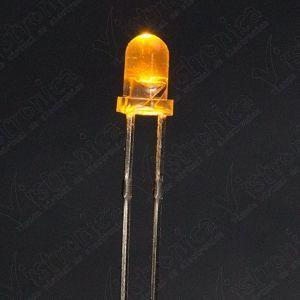 LED Amarillo 3mm Chorro