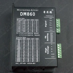 Driver Microstepper Motor Paso a Paso 7.2A DM860 Genérico - 1