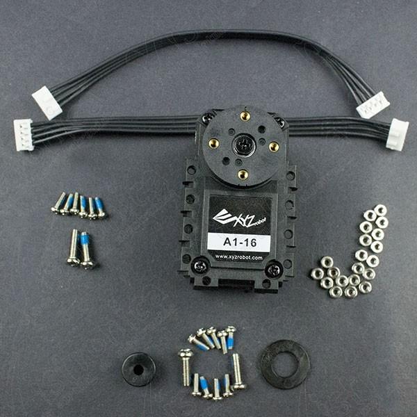 XYZrobot Smart Servo A1-16 25Kg.cm Dynamixel Pololu - 1