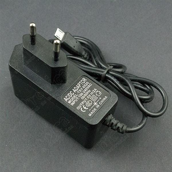 Fuente De Voltaje 5V 2A Con Micro USB Tipo B