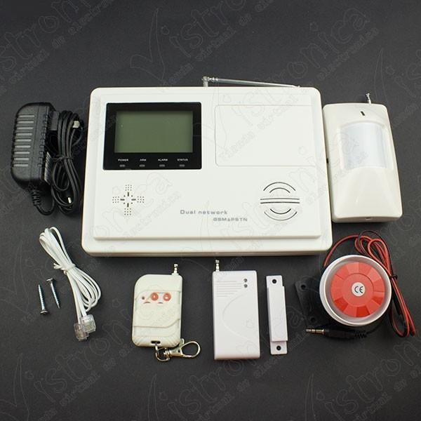 Kit de Alarma GSM/PSTN Inalámbrica de 99 Zonas