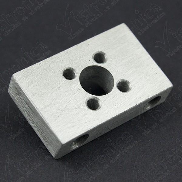 Soporte Aluminio Para Rosca T8 De Varilla Trapezoidal 8MM Genérico - 1