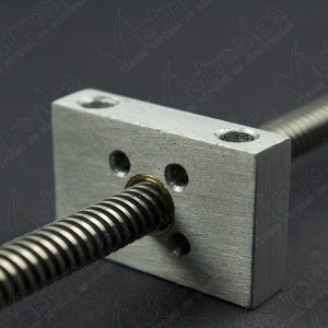 Soporte Aluminio Para Rosca T8 De Varilla Trapezoidal 8MM Genérico - 4