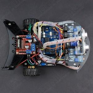 Robot GPR V2.0 2WD Multiproposito (Desarmado) Vistronica - 3