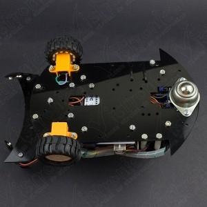 Robot GPR V2.0 2WD Multiproposito (Desarmado) Vistronica - 7