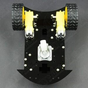 Chasis para Kit Robot GPR V2.0 Con Motores TT y Ruedas (Desarmado) Vistronica - 4