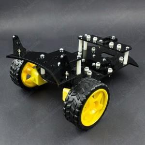 Chasis para Kit Robot GPR V2.0 Con Motores TT y Ruedas (Desarmado) Vistronica - 5